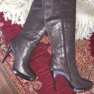 Kristin Davis Tall Boots